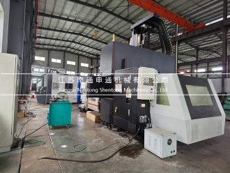 Bridge type CNC drilling machine