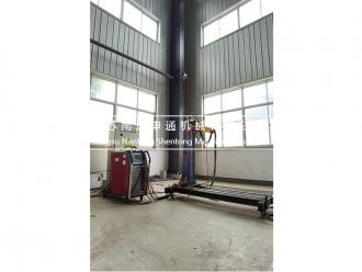 Nozzle welding machine